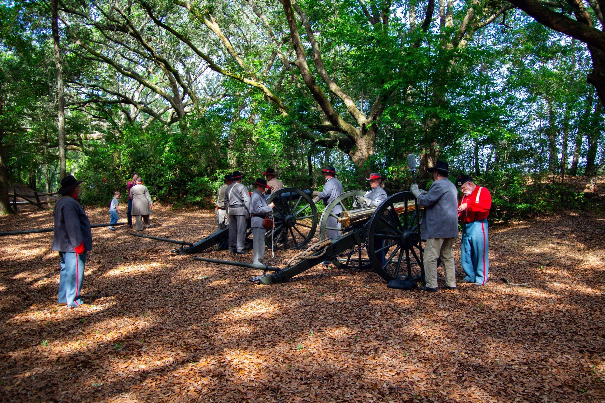 The annual anniversary of the Battle of Secessionville 11