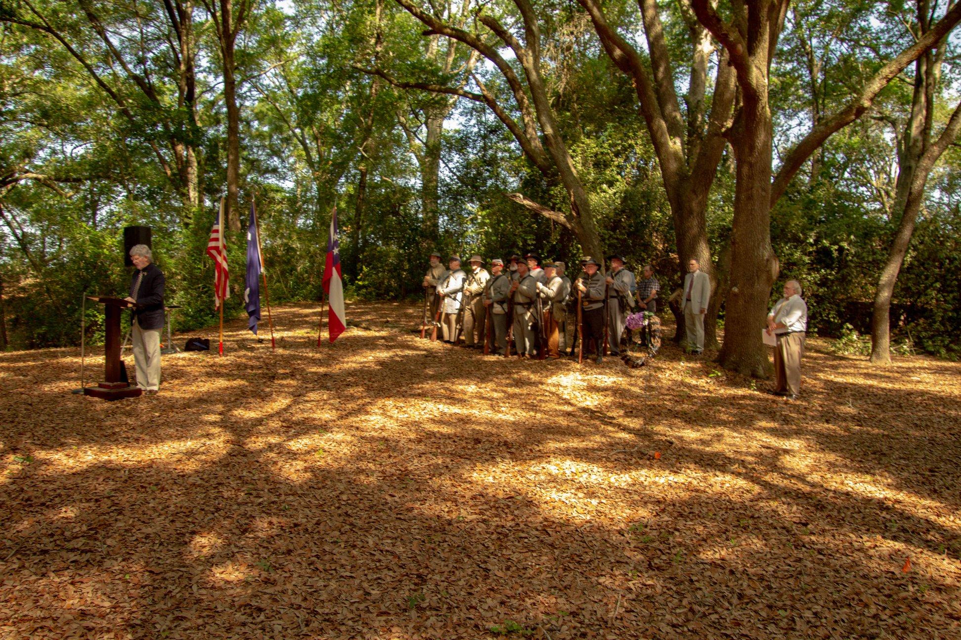The annual anniversary of the Battle of Secessionville 16