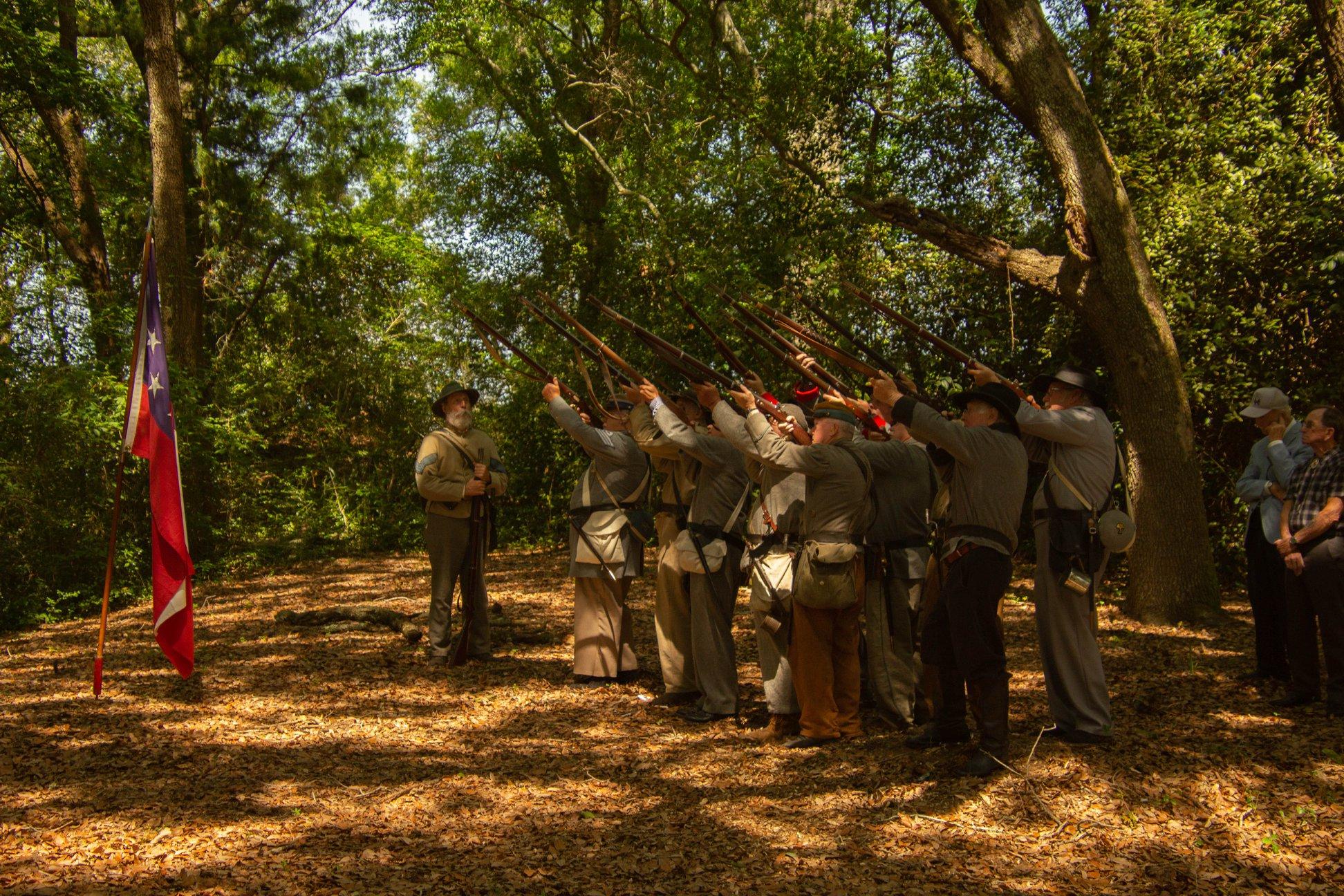 The annual anniversary of the Battle of Secessionville 21