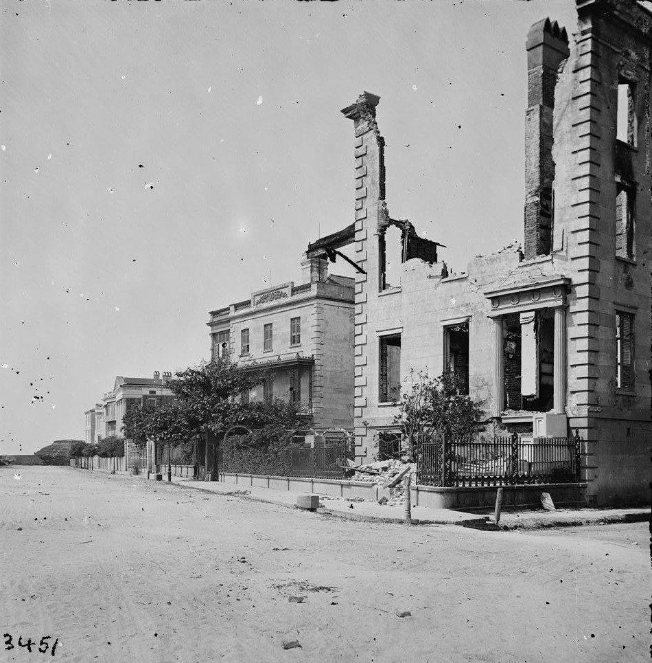 Charleston Destruction 1861 1865 Civil War