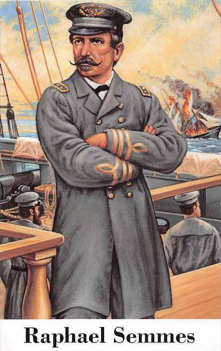 Admiral Raphael Semmes, the picture that became a U.S. postage stamp