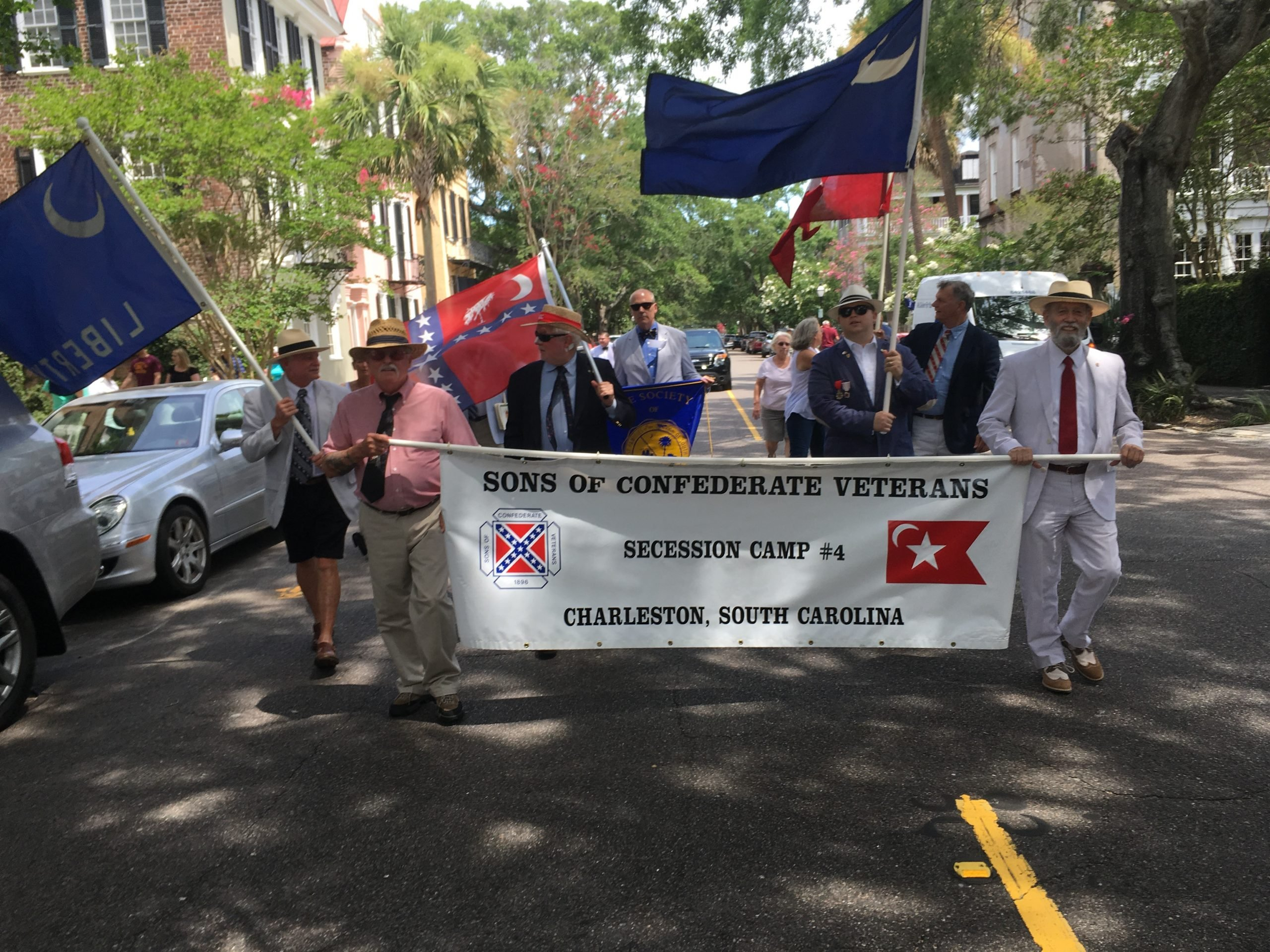 Carolina Day parade in Charleston 2017