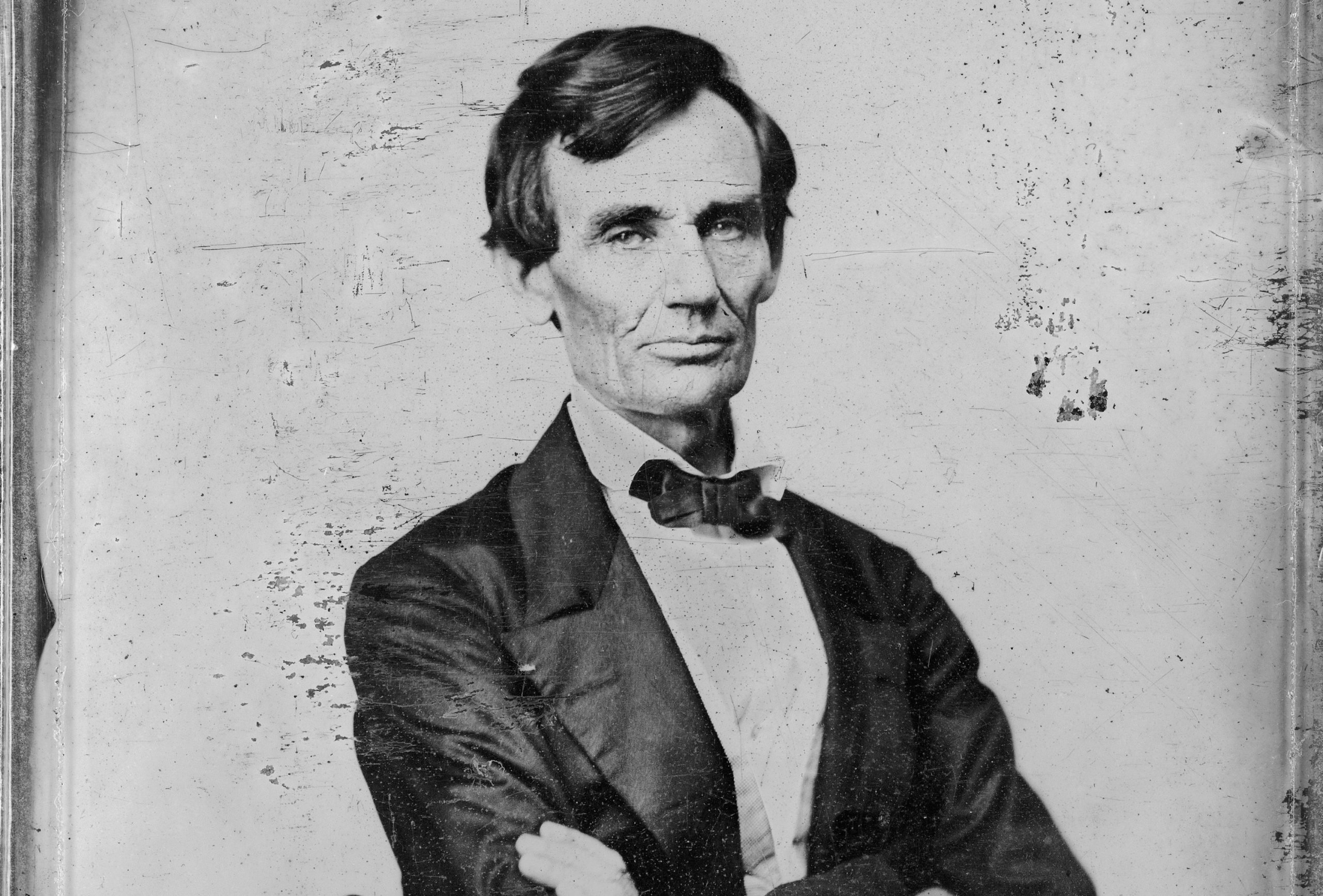 13 Honest Abe said superior position assigned to the white race