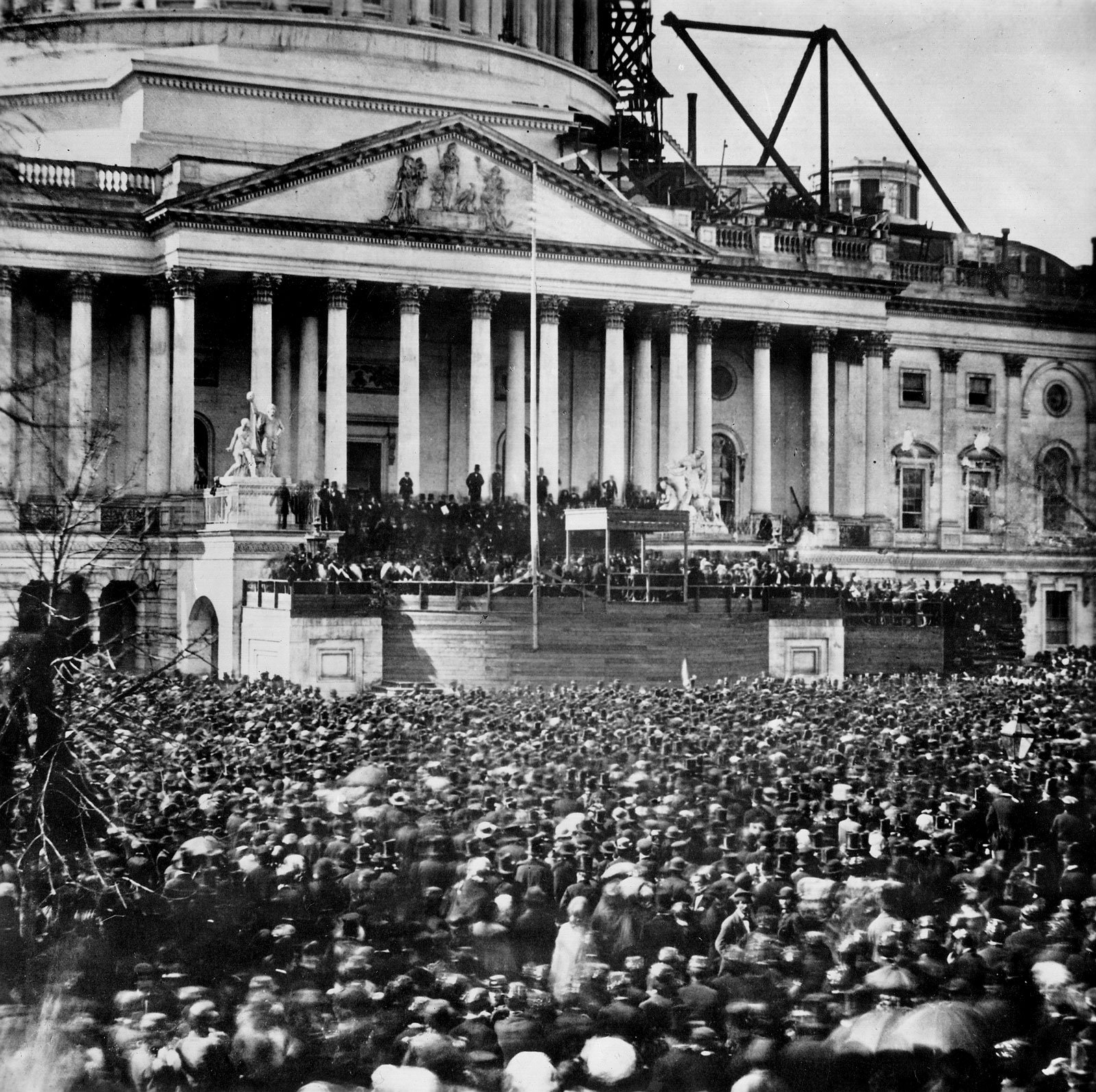 17 Inauguration of Abraham Lincoln the racists