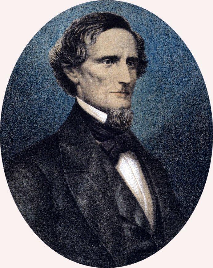 18 Jefferson Davis CSA 12