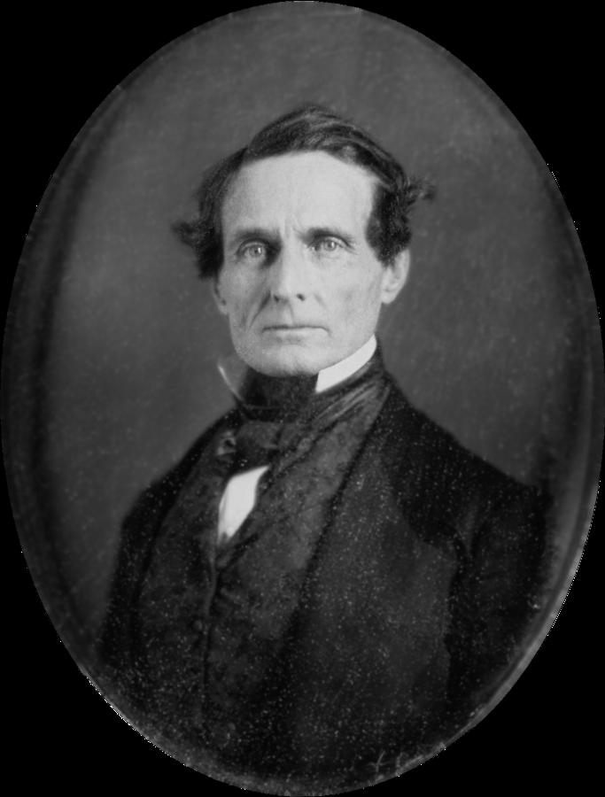 19 Jefferson Davis around age 45 1853