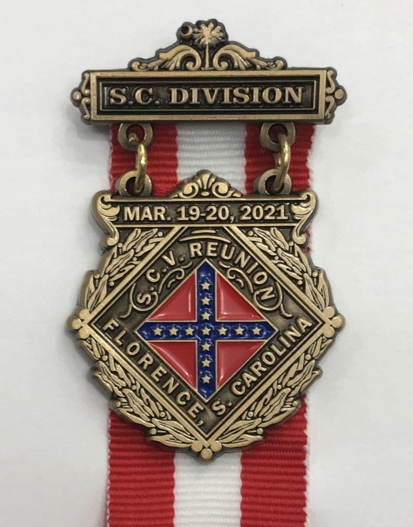 SCV SC Division Medal