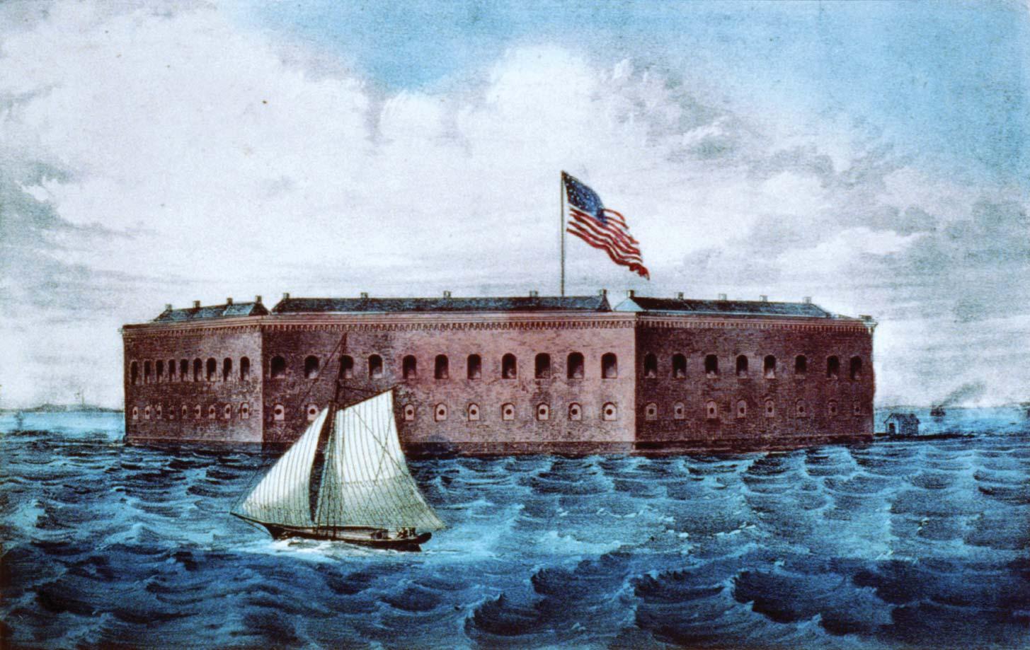24 Fort Sumter Charleston South Carolina 1861