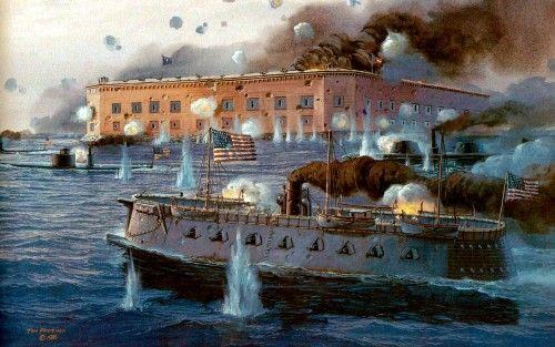 27 Yankees Surrender Fort Sumter