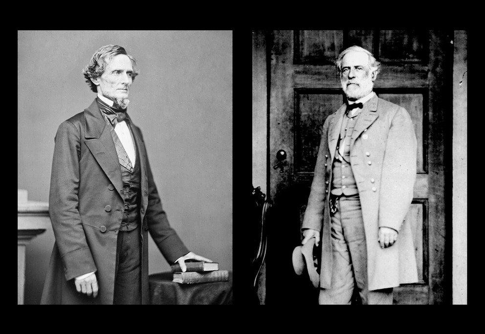 28 President Jefferson Davis Robert E Lee