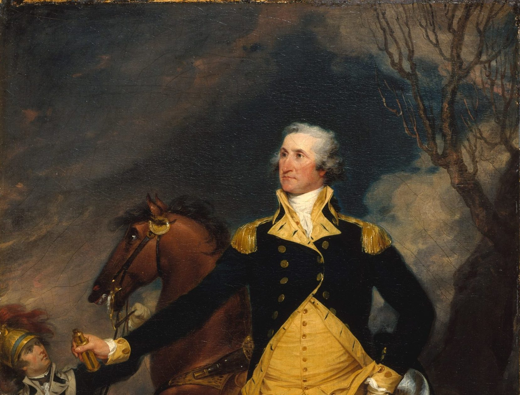 32 George Washington the man to lead the US WIN its independence