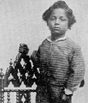 32 Jim Limber Jefferson Davis Adopted Black Son