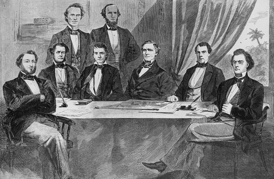 41 President Davis Confederate Cabinet