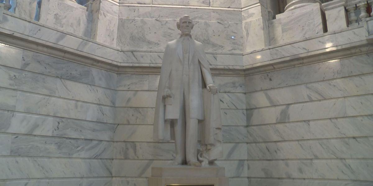 44 Davis Statue