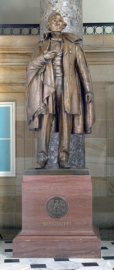 49 US Capitol Jefferson Davis Statue