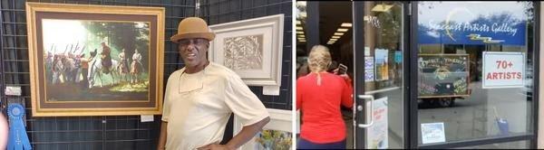 Appreciative Uncle Gregory Artwork Sale