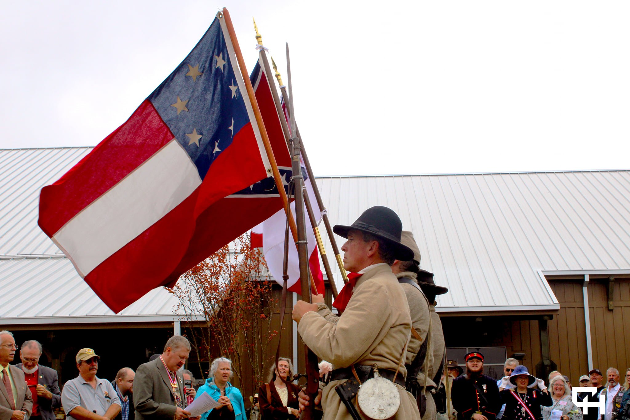 Confederate Color Guard