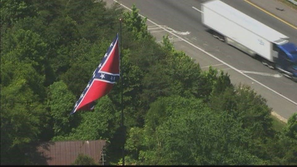 I-95 Confederate Flag of Fredericksburg