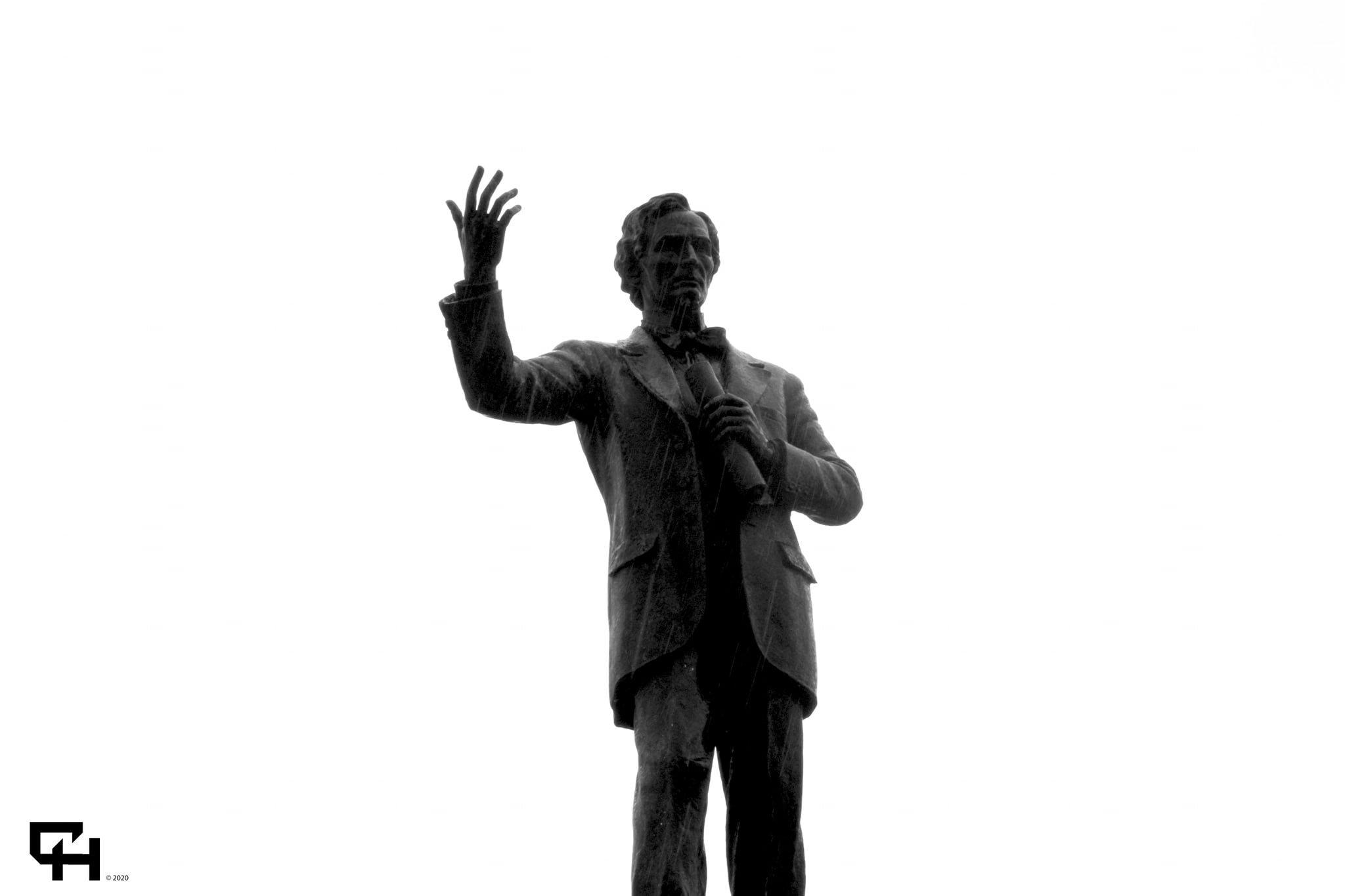 J Davis Statue CSA