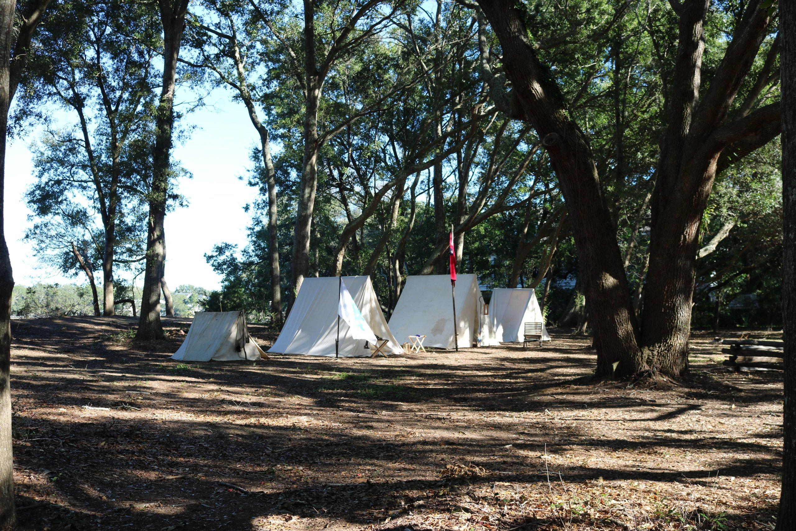 13 Confederate Camp 2