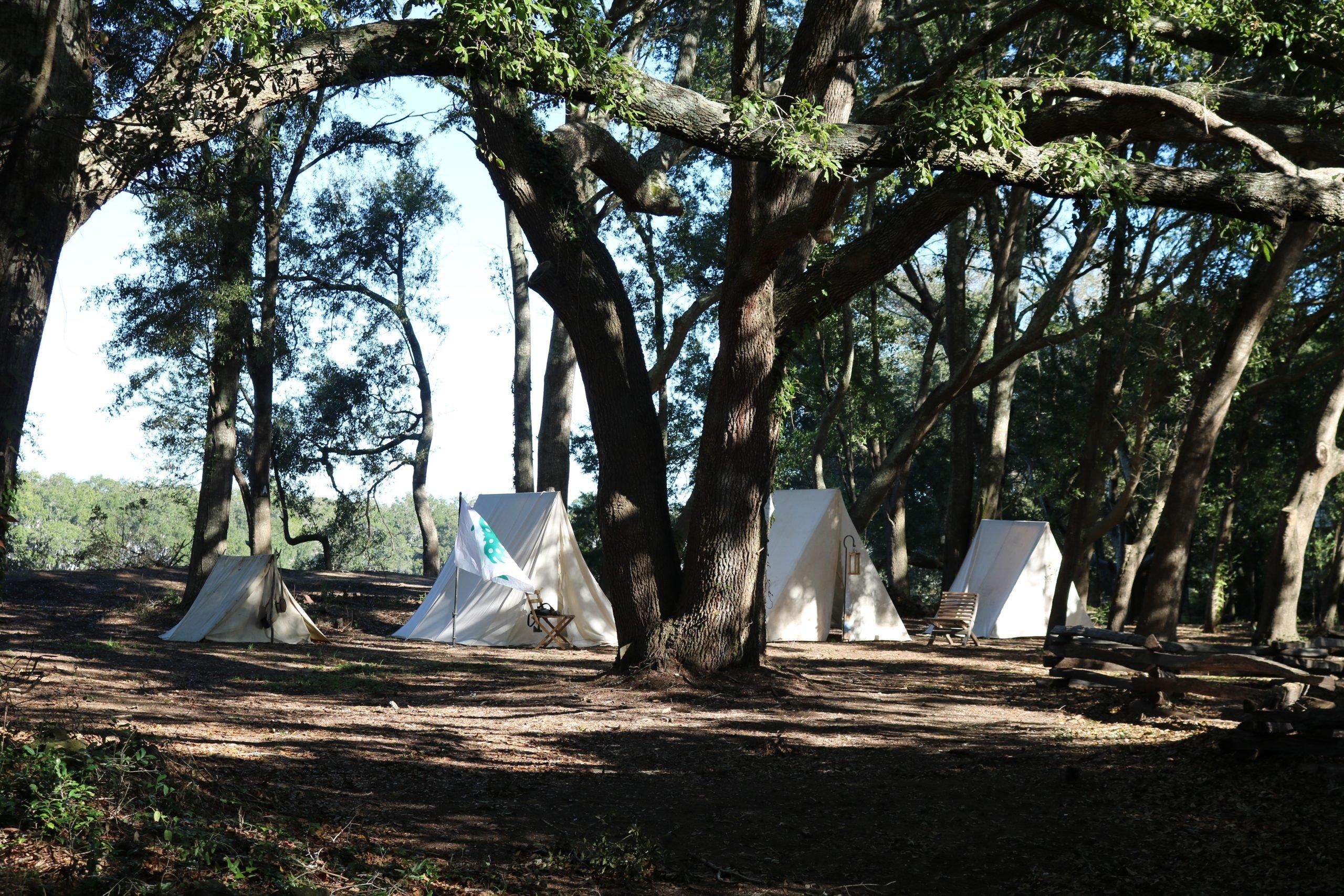 13a Confederate Camp