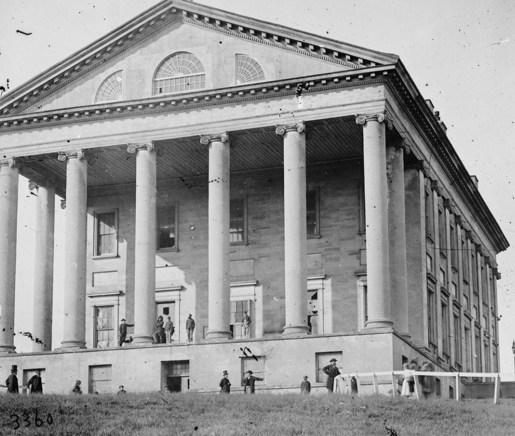 15 Richmond Virginia State Capital 1861 Declared Secession from the Union