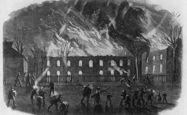 16 Union Forces Yankees burning civilian houses towns villages killing innocent women children civilians