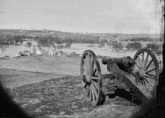 21 Richmond Virginia Under attack by Union Army forces