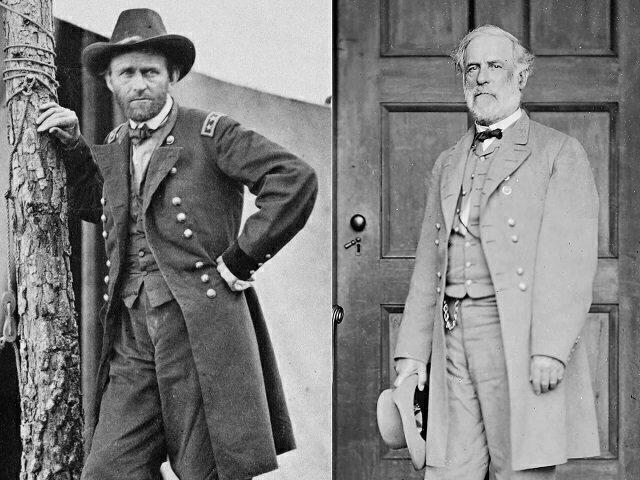 25 Robert E Lee and General Grant