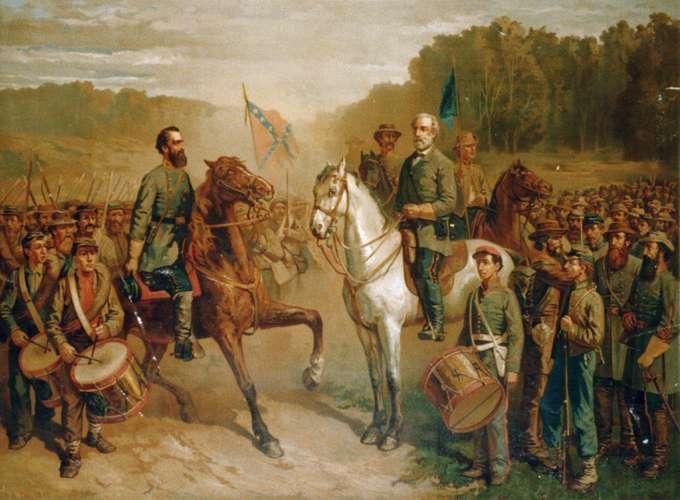 30 Stonewall Jackson and Robert E Lee