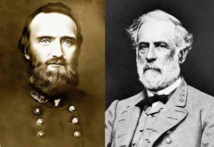 32 General Stonewall Jackson General Robert E Lee