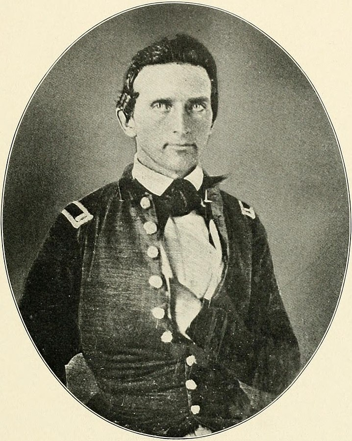 40 First lieutenant Thomas J. Jackson sometime after West Point graduation in the late 1840s