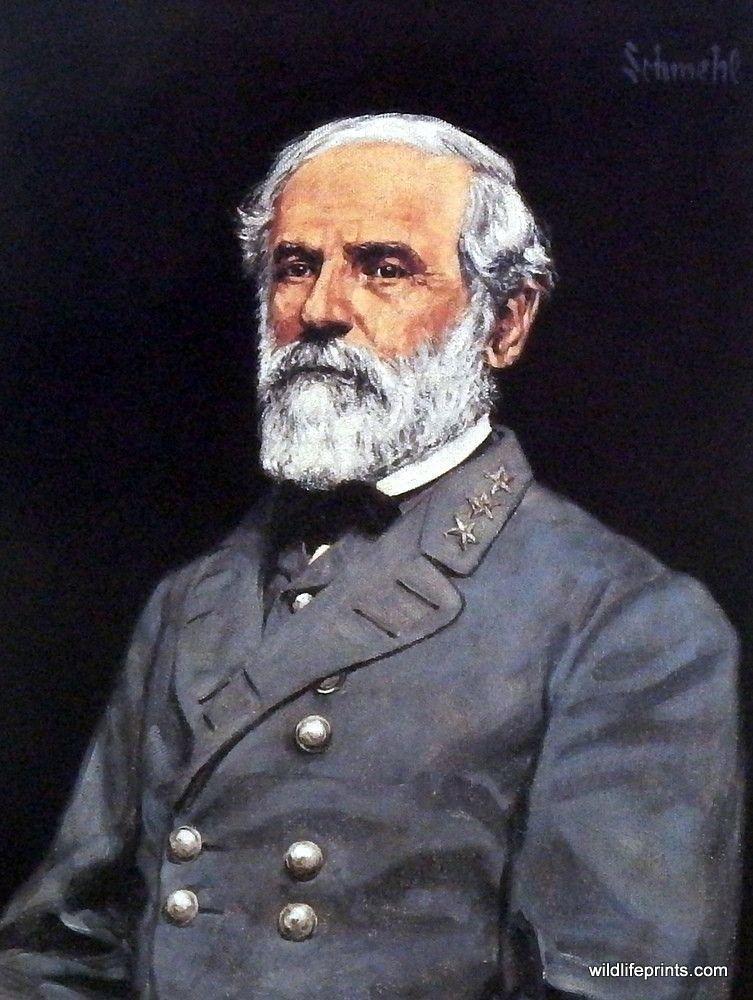 5 General Lee In Confederate General Grey Uniform