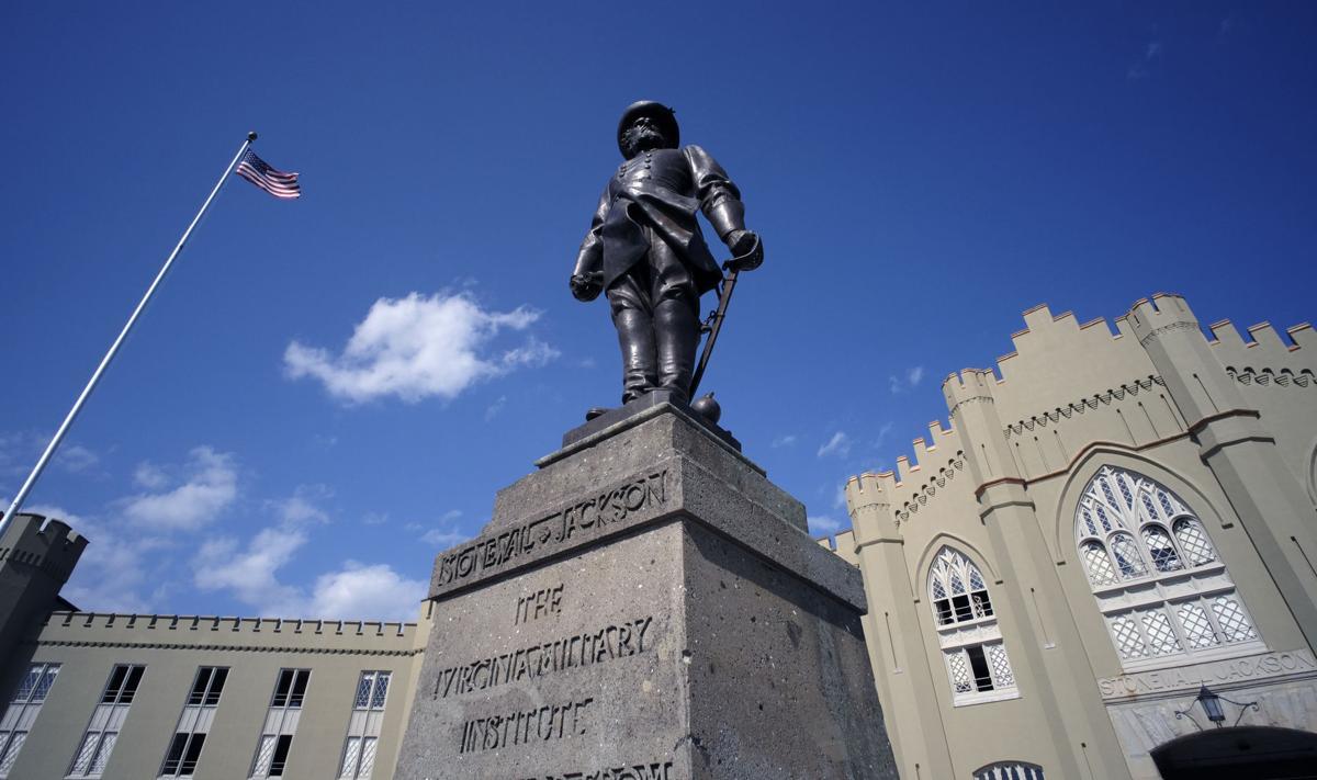 61 Stonewall Jackson Statue at VMI