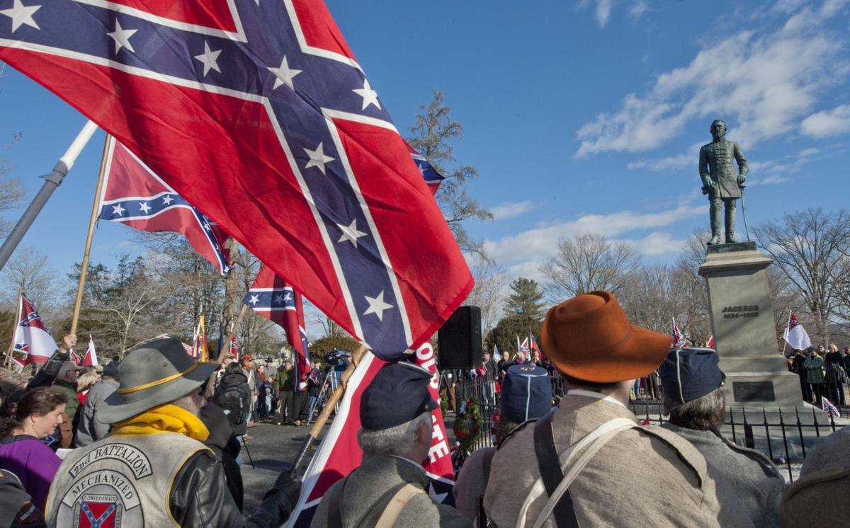 64 American Public Support Stonewall Jackson Statues and Stonewall Jackson Monuments Erect More