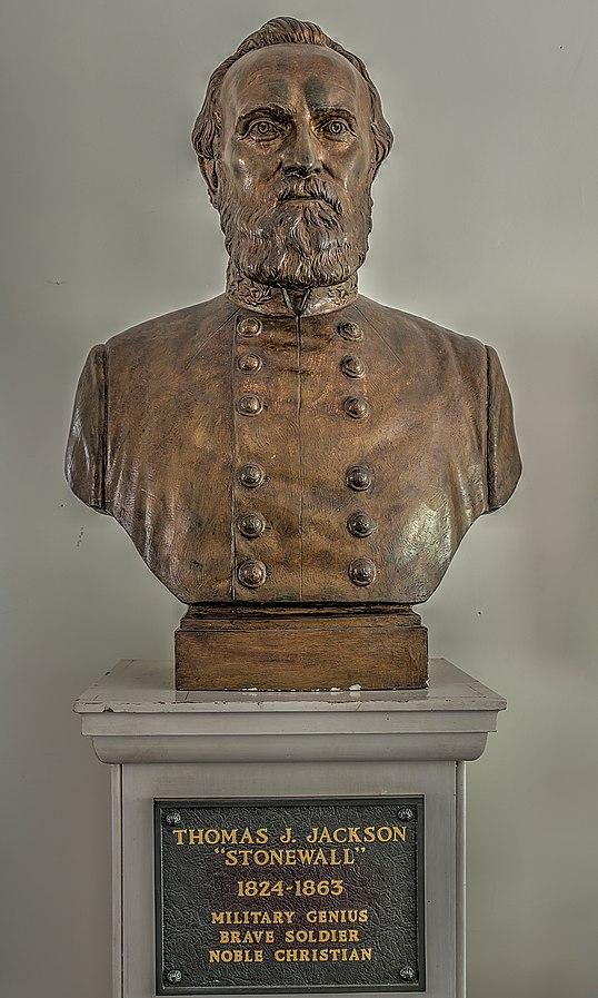 67 Stonewall Jackson Bust