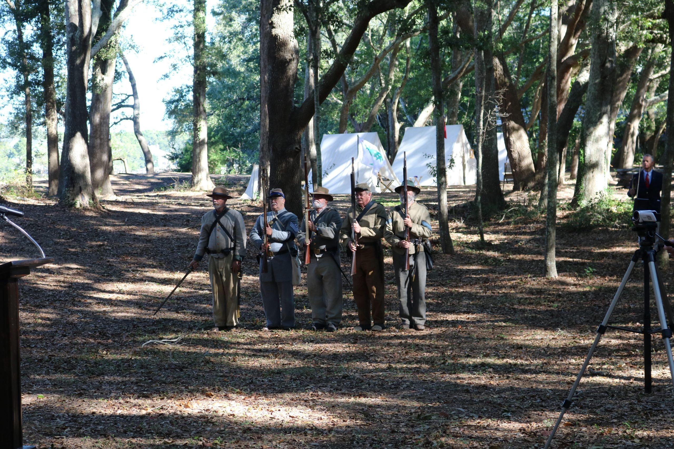 Reenactment Confederate Soldiers 2 4