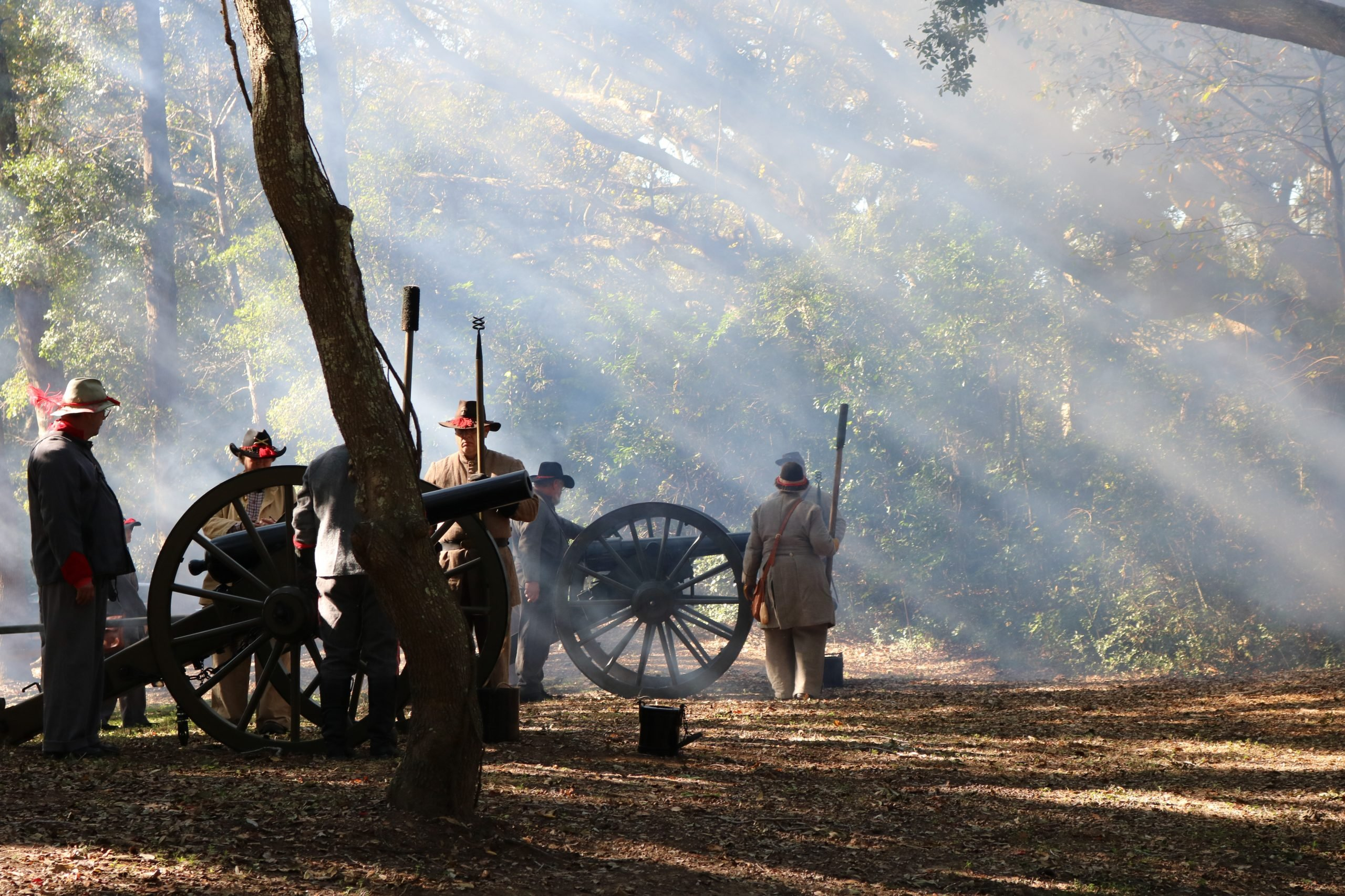 Reenactment Confederate Soldiers 2 5