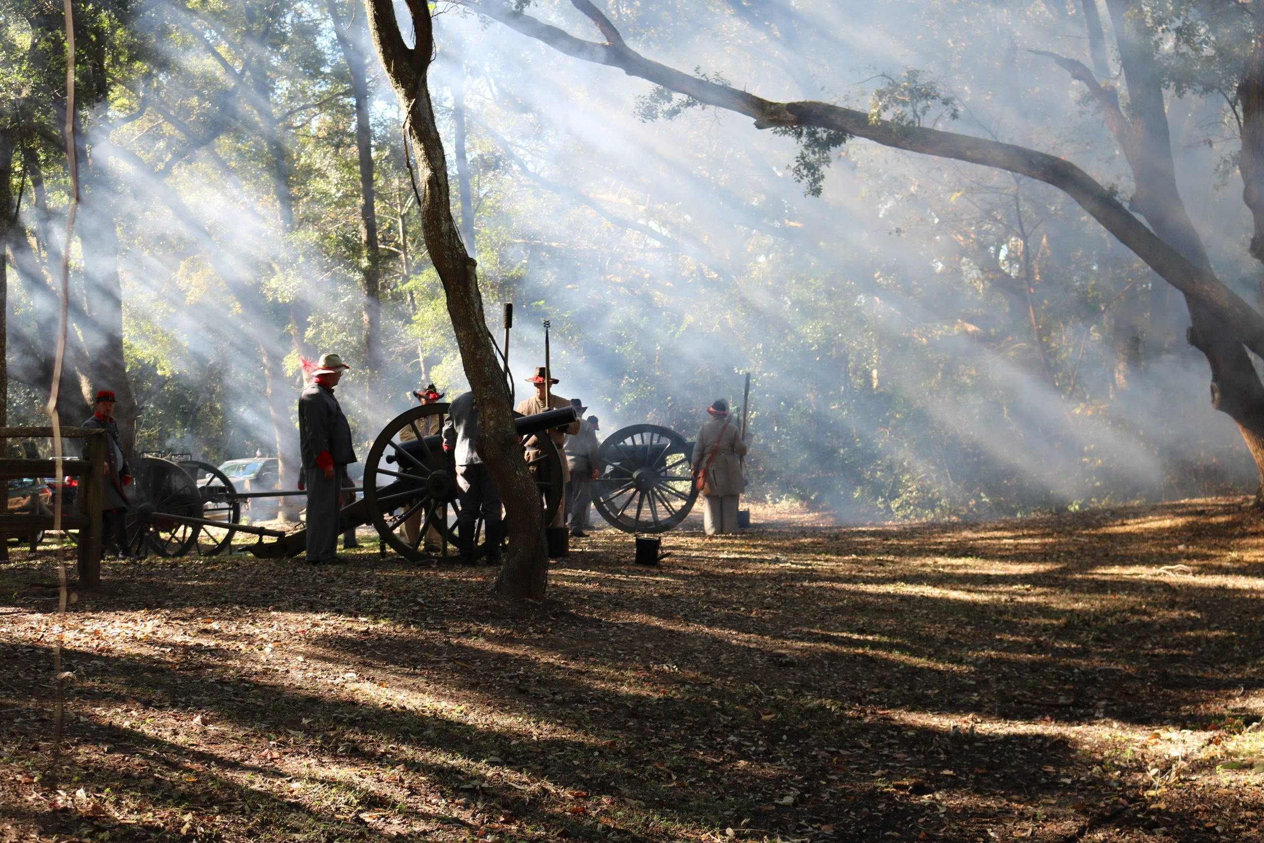 Reenactment Confederate Soldiers 2 6