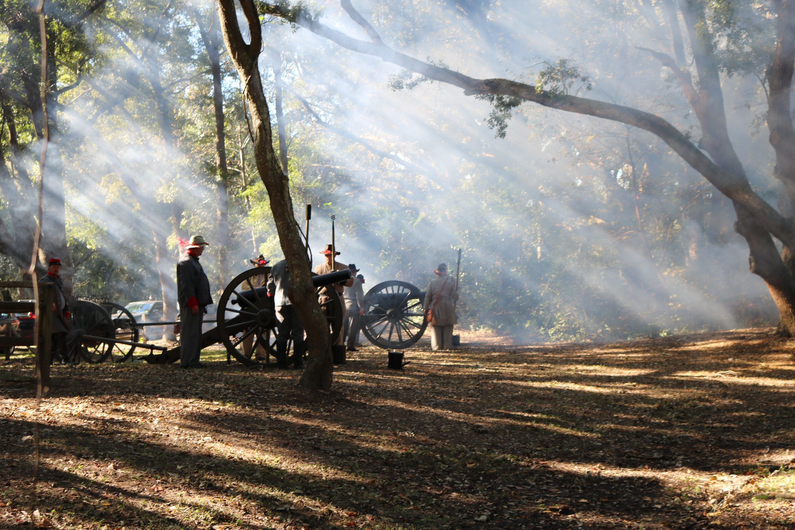Reenactment Confederate Soldiers 2 7