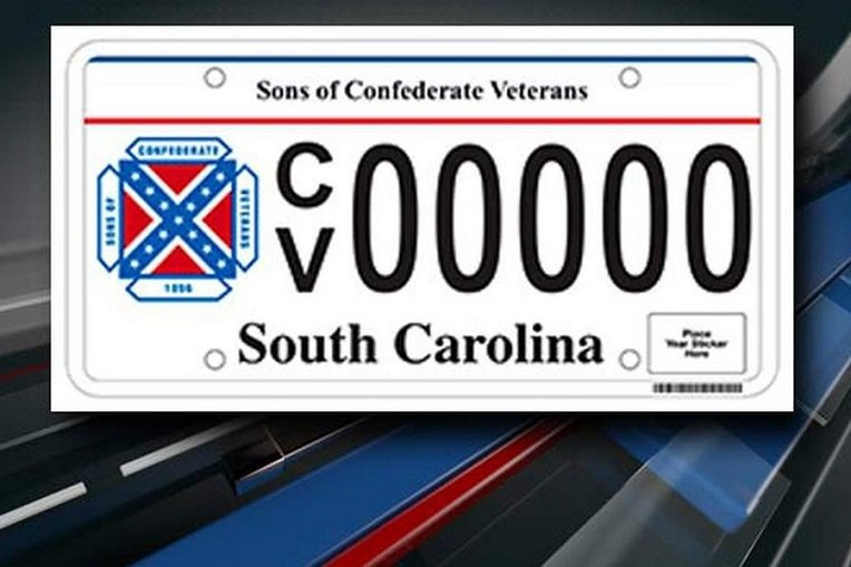 SC lawmaker to Bank Confederate Flag from License Plates including SCV