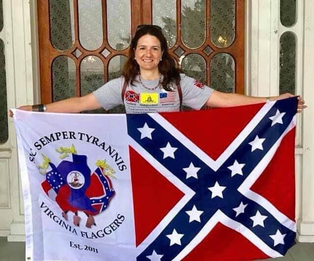 Susan Lee of the Virginia Flaggers 2