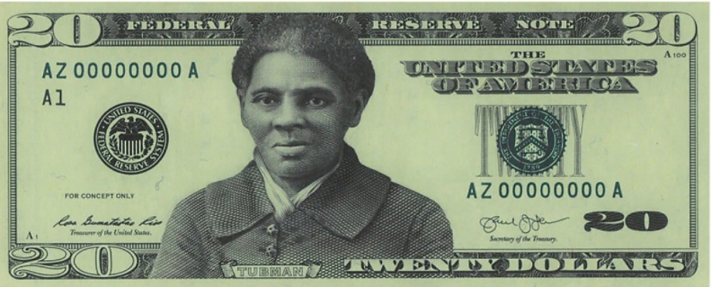The NEW $20 Bill Face