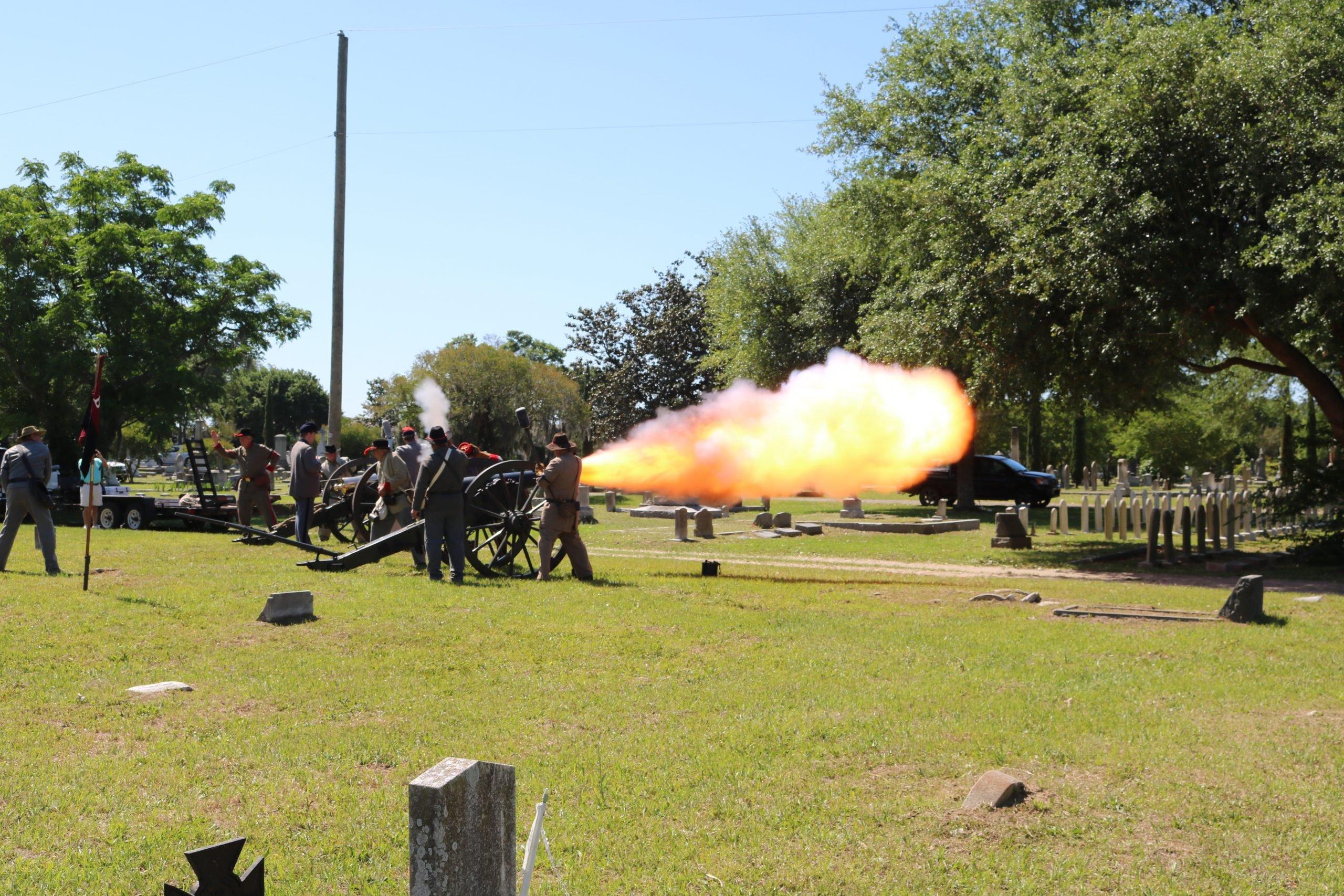 Confederate memorial Day 2021 Celebration Magnolia Cemetery