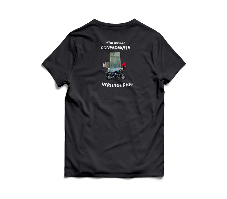 BUY your Confederate Heritage Ride T-Shirt Online
